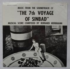 Rare The 7th Voyage of Sinbad Vinyl Soundtrack 1959  by MovieVinyl, $24.99