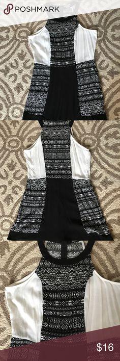 ANAMA ROMPER Really cute romper . Never worn. Black and cream size M Anama Shorts