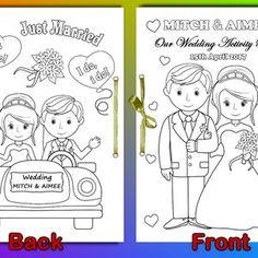 Kids Wedding Activities Kids Wedding Favors Kids Wedding | Etsy Kids Wedding Favors, Wedding Games, Wedding With Kids, Wedding Book, Our Wedding Day, Wedding Ideas, Wedding Fun, Wedding Decor, Wedding Reception