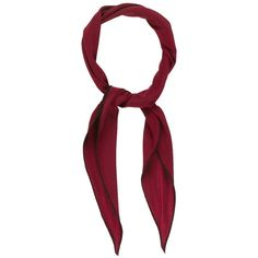 Pre-owned Herm?s Losange PM Scarf ($175) ❤ liked on Polyvore featuring men's fashion, men's accessories, men's scarves, red, mens scarves, mens red scarves and hermes mens scarves