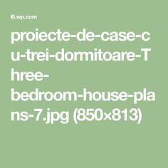 proiecte-de-case-cu-trei-dormitoare-Three- bedroom-house-plans-7.jpg (850×813)