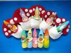 Afbeeldingsresultaat voor felt pocket gnomes