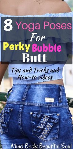8 Yoga Poses For Perky Bubble Butt I noticed my butt has gotten bigger and is lifted once I started doing yoga. If you want to change it up and start seeing results, start by doing these 8 yoga Poses For Perky Bubble Butt #butt #buttexercises #yoga #bubblebutt #perkybutt