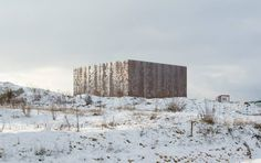 EDF Archives Centre Bure, France by LAN Architecture