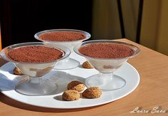 Prajitura tiramisu in cupe, Rețetă Petitchef Russian Desserts, Tiramisu, Panna Cotta, Pudding, Breakfast, Cake, Sweet, Ethnic Recipes, Food