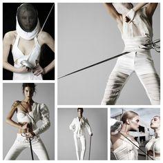 Fencing fashion