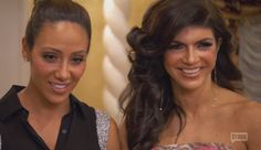 RHONJ Teresa and Melissa   ... Handling The Death Of His Father? Is Melissa Gorga Supporting Teresa