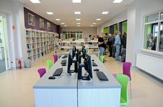new library branch in Elbląg, Poland