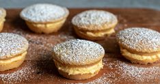 Master the sponge cake in mini form with this easy pie maker recipe. There's custard powder in the cake and filling for extra lightness and flavour. Sponge Cake Easy, Sponge Cake Recipes, Snacks To Make, Food To Make, Cooking Time, Cooking Recipes, Easy Recipes, Easy Pie, Mini Pies