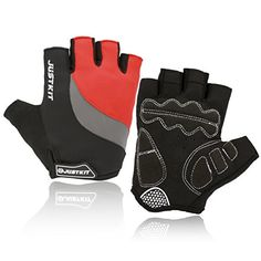 JUSTKIT Cycling Gloves Mountain Bike Gloves Road Racing Bicycle Gloves Shockproof Gel Pad Breathable Riding Gloves Half Finger Biking Gloves - http://mountain-bike-review.net/products-recommended-accessories/justkit-cycling-gloves-mountain-bike-gloves-road-racing-bicycle-gloves-shockproof-gel-pad-breathable-riding-gloves-half-finger-biking-gloves/ #mountainbike #mountain biking