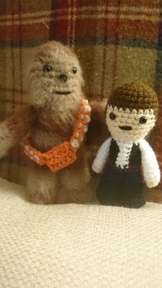 Lucy Collins Star Wars amigurami characters that were made to raise funds for the RAF Benevolent Fund Star Wars Crochet, Crochet Stars, Raise Funds, Star Wars Characters, Teddy Bear, Diy, Animals, Animales, Bricolage