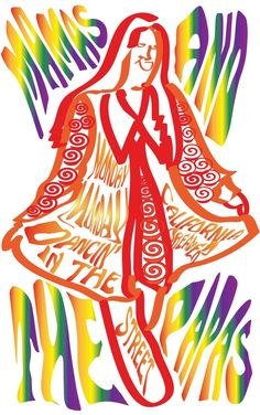 Psychedelic 60s Posters by Barb Kelly at Coroflot.com