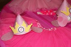 princess puppy party hats...good idea but ran out of time to use it this time