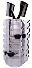 42 PAIR SUNGLASS DISPLAY SPINNING COUNTER RACK glasses holder spin around NEW