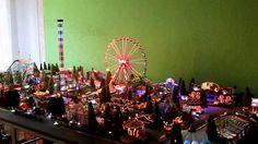 Faller Kirmes Beleuchtung | Faller Riesenrad Mit Hammer Smd Beleuchtung Christmas Village