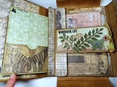 Tim Holtz  has got a great new product out there called a Collection Folio . There are two sizes, a large and small. Today I wanted to share...
