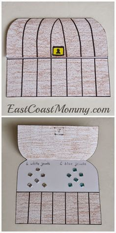East Coast Mommy: Number Crafts {Number SIX}... Pirate Adventure