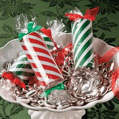Paper Roll Candy Gift Tubes