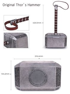 We offer authentic and traditional items that vikings all over the world are loving. Thor Cosplay, Cosplay Diy, Thors Hammer, Thor Hammer Replica, Gravure Metal, Norse Mythology, Movie Props, Leather Handle, Blacksmithing