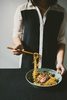 duck-fat scallion noodles - le jus d'orange-9
