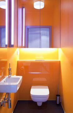 łazienka / toilet our project #idea #colors #orange #violet #wnętrze #projektowanie #interiordesign #warsaw Leroy Merlin, Sink, Home Decor, Sink Tops, Vessel Sink, Decoration Home, Room Decor, Vanity Basin, Sinks