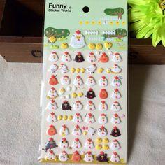 Koreanische Aufkleber Tagebuch Deko Aufkleber hübsch von funny Sticker World