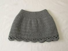 VERY EASY pretty crochet skirt tutorial - all sizes (baby to adult) - YouTube