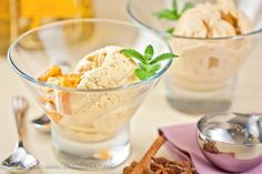 Spice Roasted Pineapple Ice Cream | Get the recipe deliciouseveryday.com