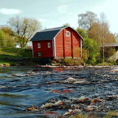 rai-rai - Kirkonkoski, Kriikun museovesimylly ja silta.