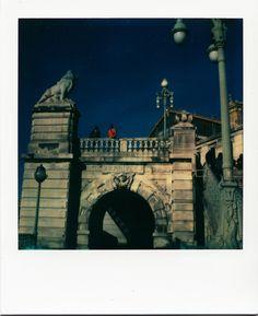 Gare Saint Charles / #Marseille #polaroid #transports #gares / www.marseillepolaroid2013.com