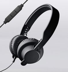 AIAIAI TMA-1 DJ Headphone w/ Mic - Black. So freakin' hipster, but I don't really care. I think, I just think I should have these...