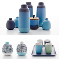 Embrace the Blues With Heath Ceramics' Summer Collection Heath Ceramics, Pottery Classes, Ceramic Design, Cozy House, Small Living, Summer Collection, Home Furnishings, Popsugar, Home Accessories