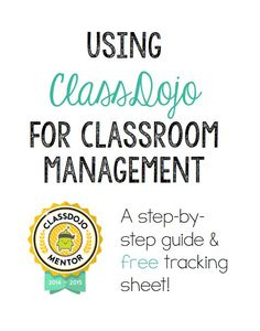 ideas for ipads class dojo classroom management system