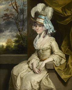 Elizabeth, Countess of Warwick by Sir Joshua Reynolds, ca 1780 England, the Frick Collection
