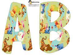 KATIA ARTES - BLOG DE LETRAS PERSONALIZADAS E ALGUMAS COISINHAS: Alfabeto Ursinho Phoo