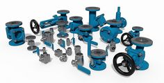 3D cad Models for mechanical engineers. Complete cad libraries for Autodesk Inventor and Solidworks. Valves, electric motors, piping, pipe fittings and much much more...