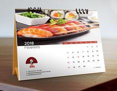 "Check out new work on my @Behance portfolio: ""Samurai Sushi - calendário 2018"" http://be.net/gallery/55008833/Samurai-Sushi-calendario-2018"