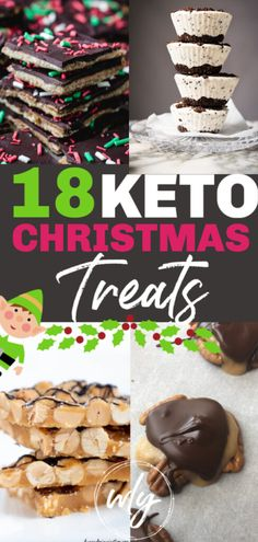 18 keto Christmas candy recipes and treats to make for the holidays! You'll love these yummy low carb Christmas treats recipes. 18 keto Christmas candy recipes and treats to make for the holidays! You'll love these yummy low carb Christmas treats recipes. Low Carb Candy, Keto Candy, Keto Holiday, Holiday Desserts, Holiday Recipes, Christmas Dinner Recipes, Healthy Christmas Recipes, Christmas Dinners, Holiday Dinner