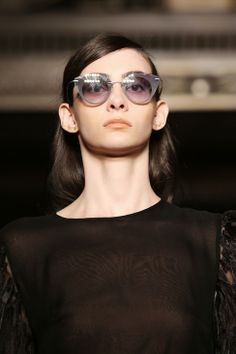 ModMods - Best AW14 Catwalk Accessories - Batwing-Shaped Glasses - Felder Felder