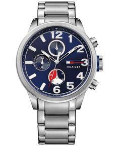 Tommy Hilfiger Men's Casual Sport Stainless Steel Bracelet Watch 44mm 1791242