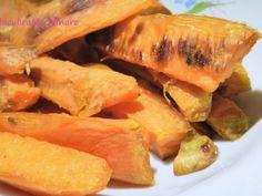 Rețetă Felul principal : Cartofi dulci cu rozmarin si nucsoara de Elucubratiiculinare Sweet Potato, Cantaloupe, Lime, Potatoes, Vegetables, Cooking, Food, Diet, Chef Recipes