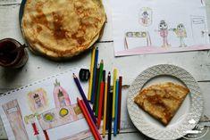 PALACINKY Z KVÁSKU - Chuť od Naty Cooking Recipes, Chef Recipes, Recipies, Recipes