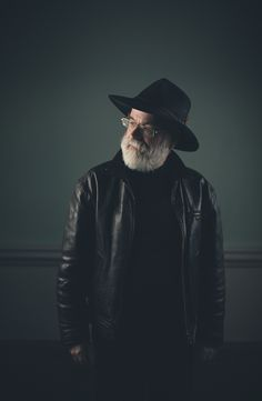 ! Sir Terry Pratchett, one of the great--and wacky--storytellers