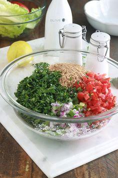 Quick Recipes, Cooking Recipes, Healthy Recipes, Polenta, Gnocchi, Lebanese Tabbouleh, Quinoa, Risotto, Lebanese Recipes
