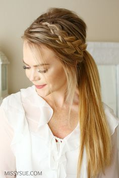 Woven Headband Braid – MISSY SUE