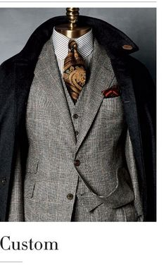 Classy and elegant three pieces suits for men (22) - FASHIONETTER. Topics: #OutfitIdeas and #MontrealFashion. Visit http://ez-couture.com to reserve your private appointment.