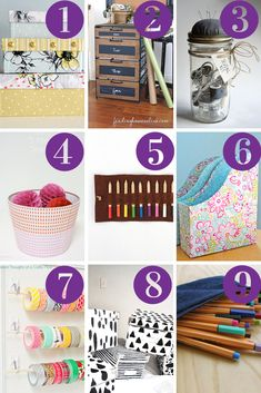 Link Love: Crafty Storage Solutions