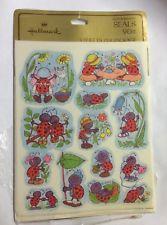 Vintage Hallmark Ladybugs Stickers Seals