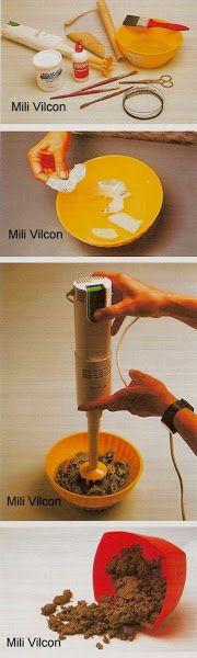 Como hacer papel mache o pasta de papel?