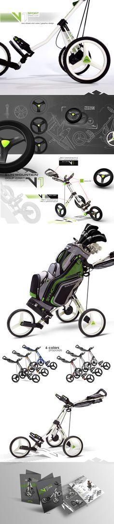 SUN MOUNTAIN V1 SPORT Golf Cart on Behance Designed by IOTA Design